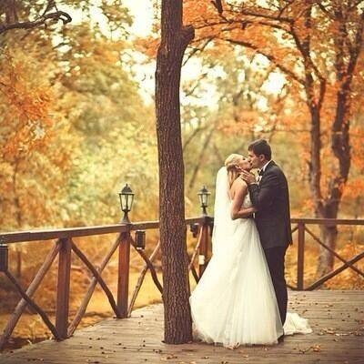 Sweet autumn wedding kiss pictures photos and images for facebook sweet autumn wedding kiss junglespirit Images