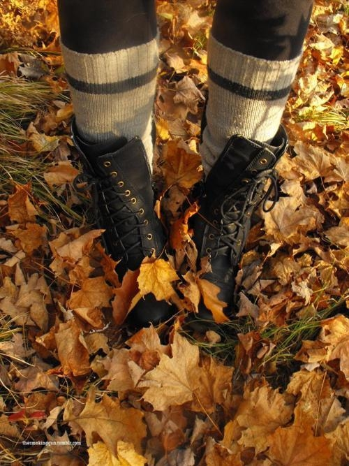 Boots In Autumn Pictures Photos And Images For Facebook