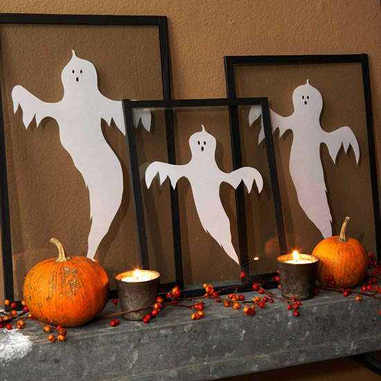 Ghostly frame decorations pictures photos and images for for Magazine bricolage decoration