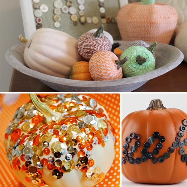 3 Easy No Carve Pumpkin Decorating Ideas