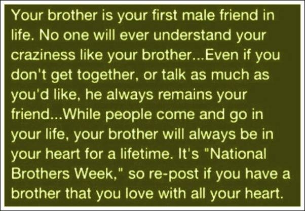 Quotes About Loving Your Brother Amazing Your Brother Pictures Photos And Images For Facebook Tumblr
