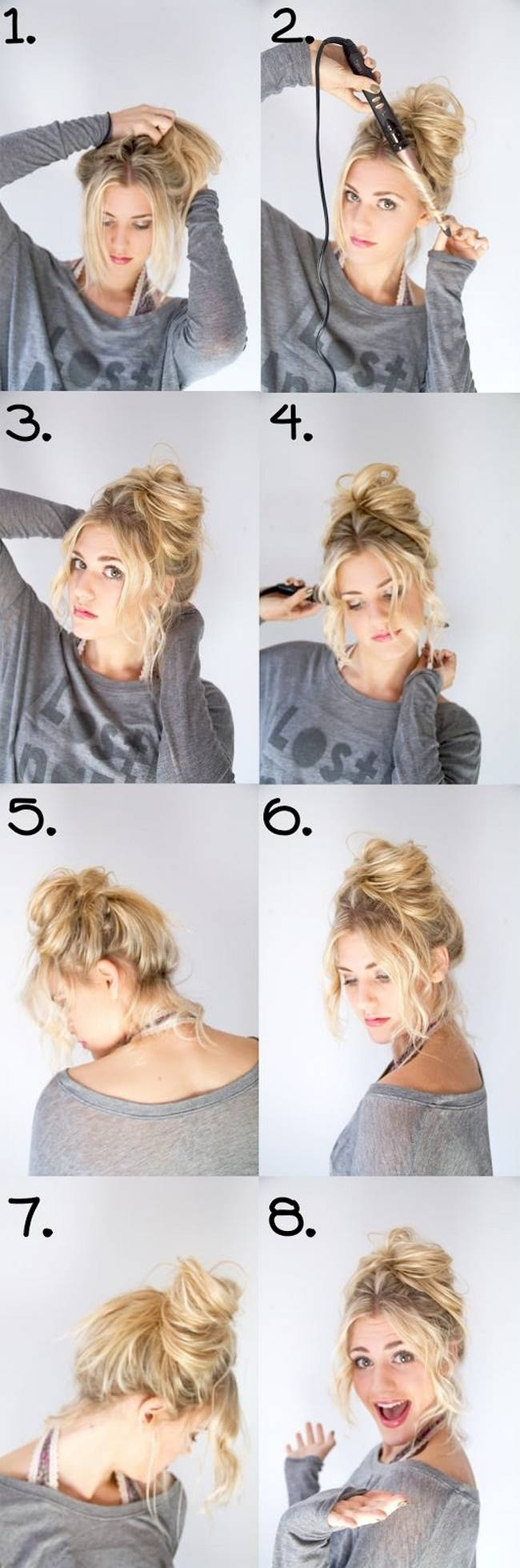 Diy messy updo pictures photos and images for facebook tumblr diy messy updo solutioingenieria Gallery