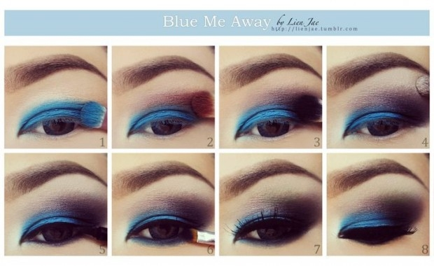 How To Use Bridal Makeup Step By Step : DIY Eye Makeup Pictures, Photos, and Images for Facebook ...