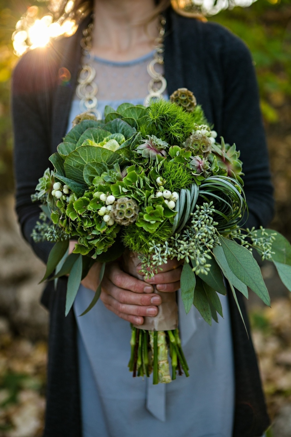 Wedding Flowers To Go With Green Dresses : Green wedding bouquet pictures photos and images for