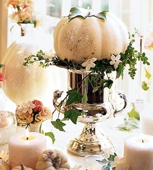 Pretty autumn tablescape pictures photos and images for for White pumpkin table decorations