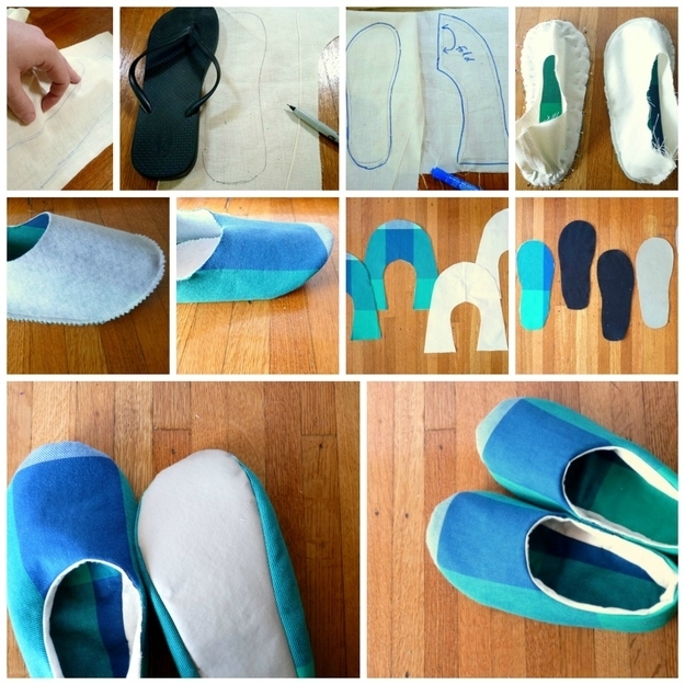 Diy Fabric Slippers Pictures Photos And Images For Facebook
