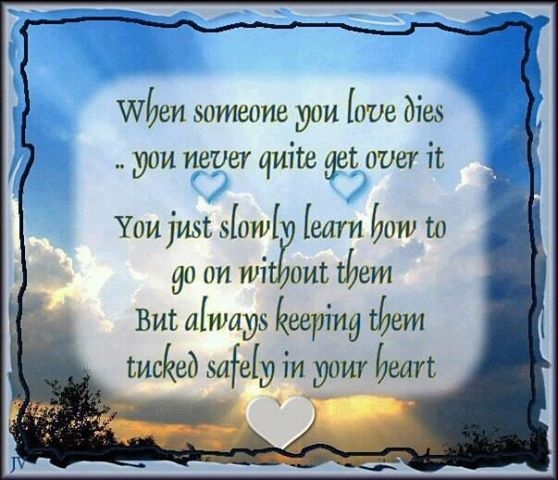 Christmas Quotes Loss Loved One: When Someone You Love Dies Pictures, Photos, And Images