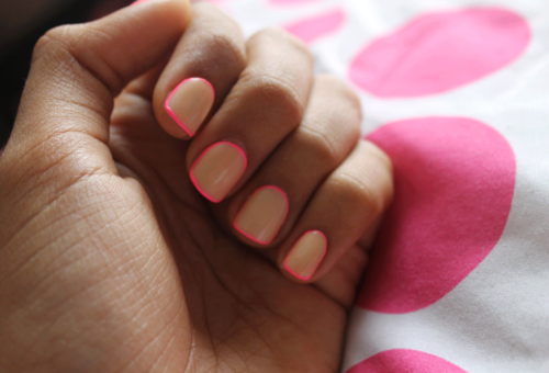 Neon Outlined Nails Pictures, Photos, and Images for Facebook ...