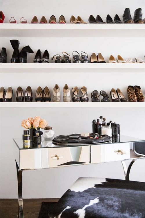 shoe shelf decor - Shelf Decor
