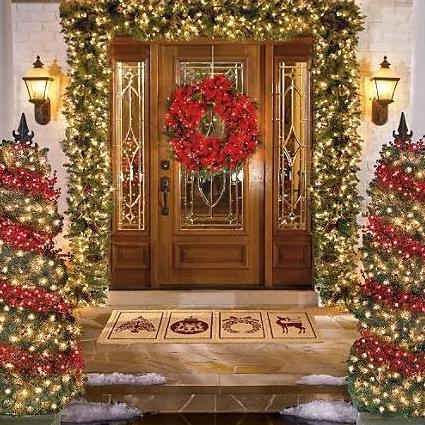 Christmas Front Door Pictures Photos And Images For Facebook