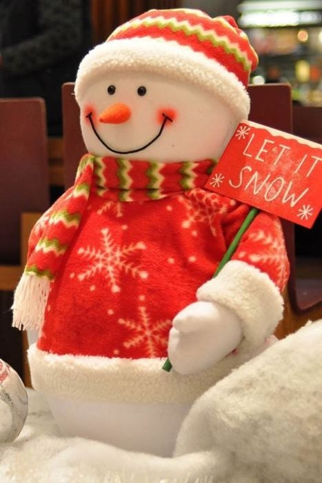 Let it snow snowman pictures photos and images for
