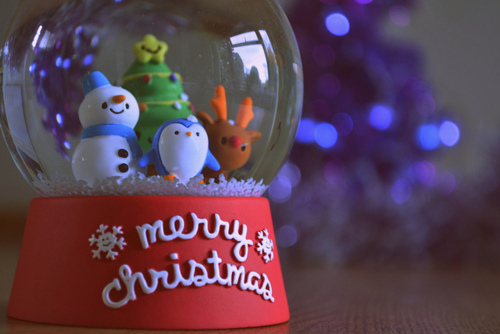 Merry Christmas Snow Globe Pictures, Photos, and Images for ...
