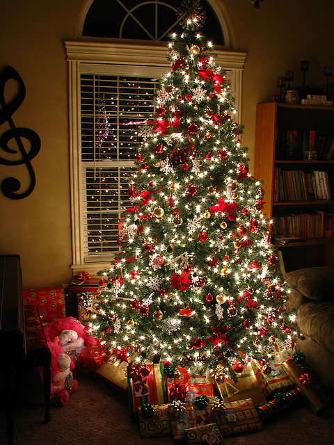 Glowing Christmas Tree Pictures Photos And Images For
