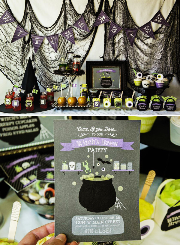 Witch S Brew Theme Party Pictures Photos And Images For