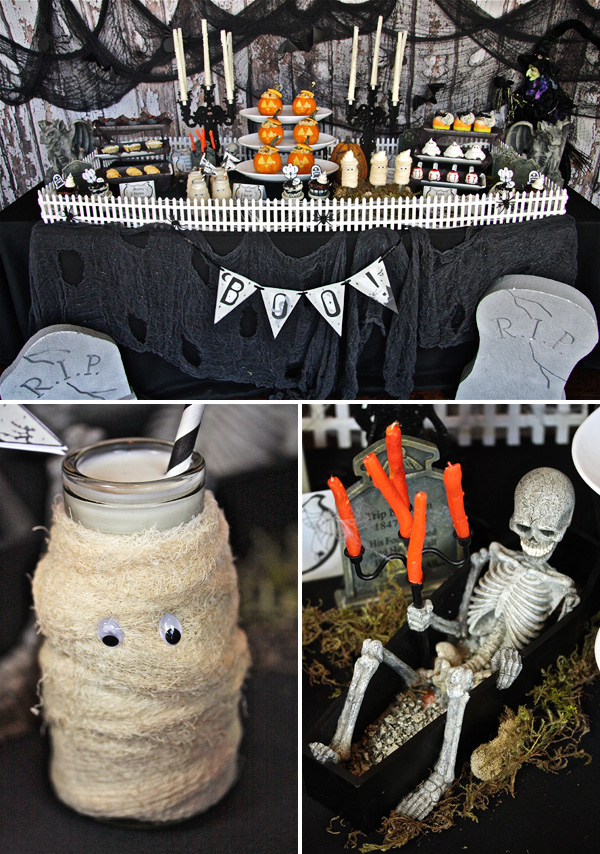 Haunted Mansion Graveyard Party Pictures Photos And