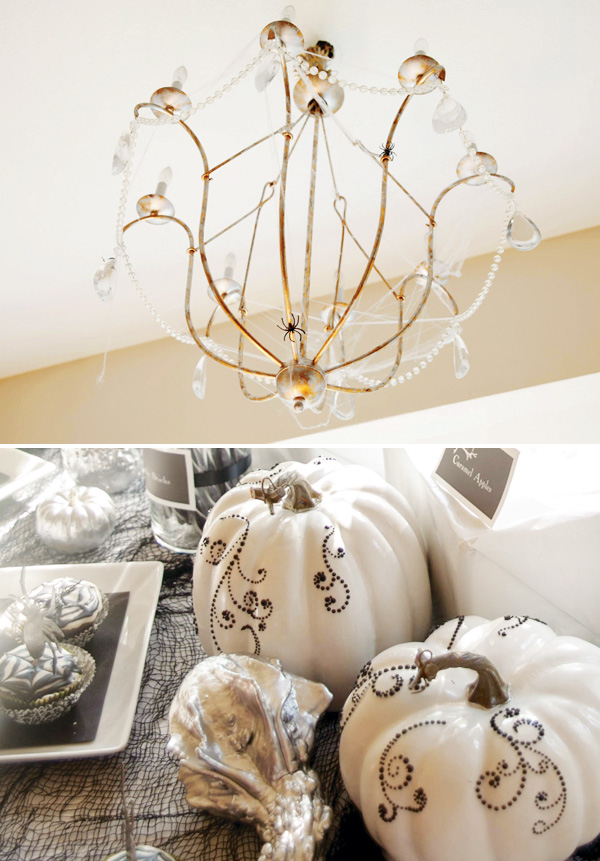 elegant halloween decor - Elegant Halloween Decor