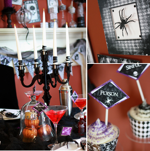 Elegant And Eerie Party Decorations Pictures Photos And