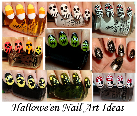 Halloween nail art ideas pictures photos and images for facebook halloween nail art ideas prinsesfo Images