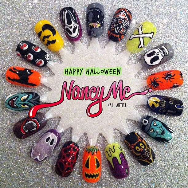 Happy halloween nail art pictures photos and images for facebook happy halloween nail art prinsesfo Images