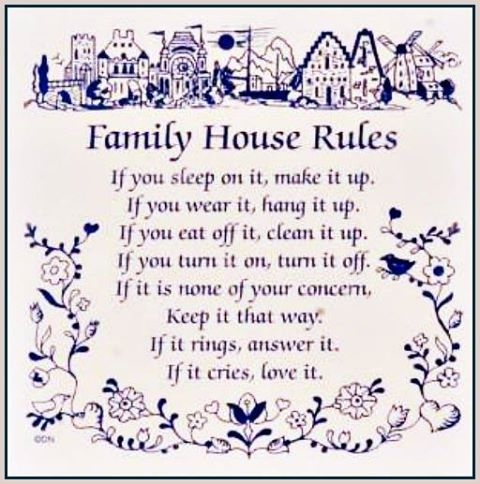 how to create house rules on facebook