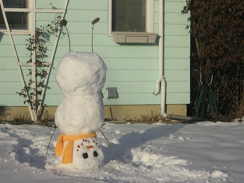 Upside down snowman pictures photos and images for