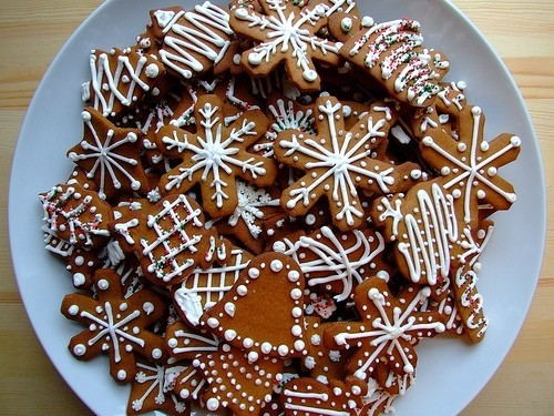 Gingerbread Cookies With Icing Pictures Photos And Images For