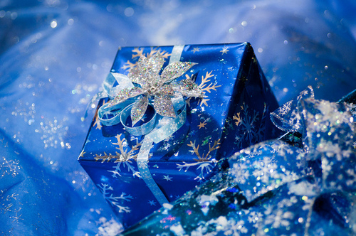 Blue Wrapped Gifts Pictures Photos And Images For Facebook Tumblr Pinterest And Twitter