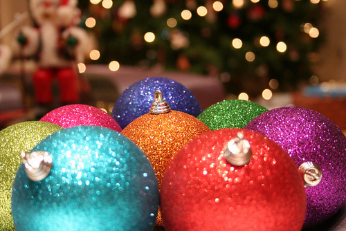 Colorful Glitter Ornaments Pictures, Photos, and Images ...