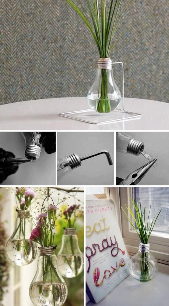 Diy Light Bulb Vase Pictures Photos And Images For Facebook