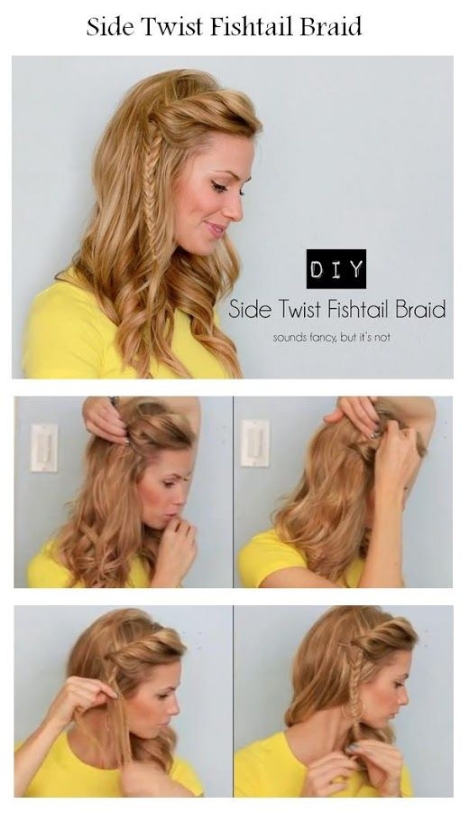 DIY Side Fishtail Braid Pictures Photos And Images For Facebook - Hairstyle diy tumblr