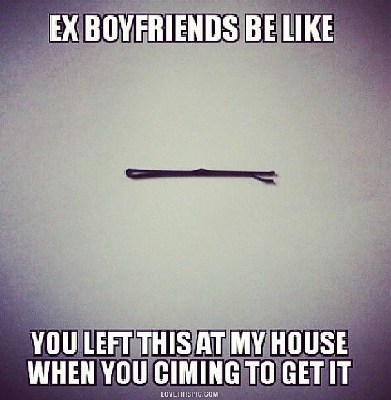 boyfriend friends with ex