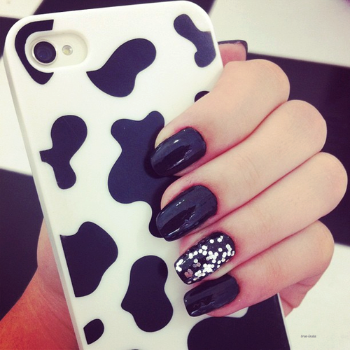 Black And White Nails Pictures Photos And Images For Facebook