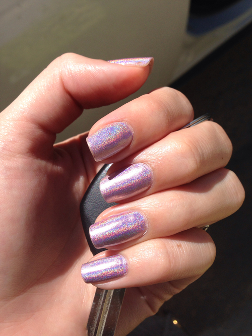 Holographic Nails: Glitter Holographic Nails Pictures, Photos, And Images For