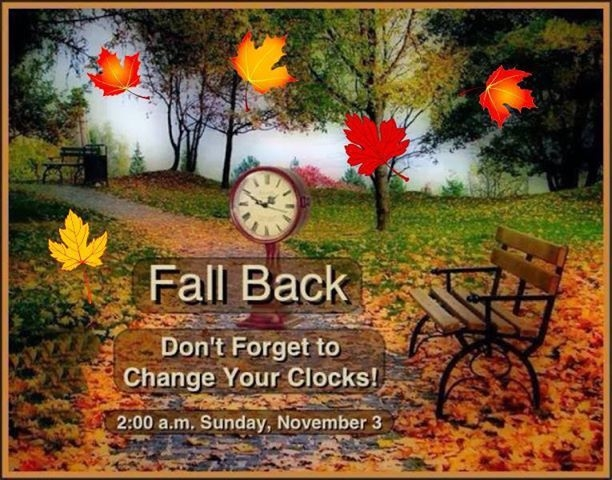 Time Change Facebook: Fall Back Pictures, Photos, And Images For Facebook