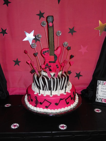 Rock Star Party Cake Pictures Photos And Images For
