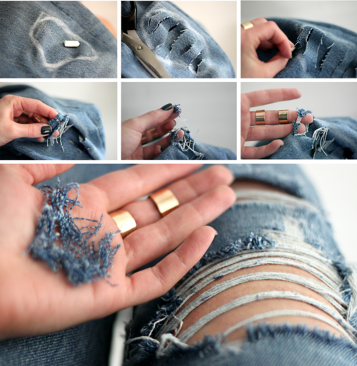Diy ripped jeans pictures photos and images for facebook tumblr diy ripped jeans solutioingenieria Gallery