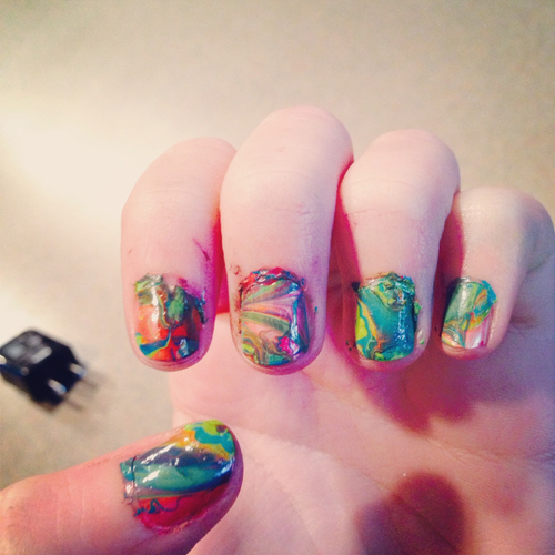 Water Marble Nails Pictures, Photos, and Images for Facebook, Tumblr ...