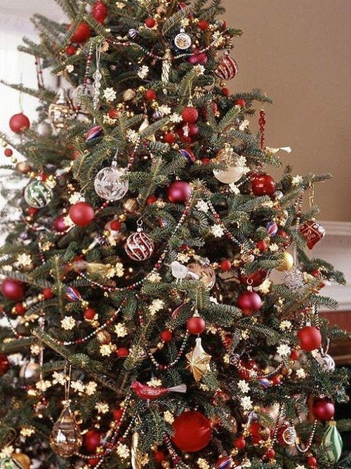 Overly decorated christmas tree pictures photos and - Sapin de noel decore ...