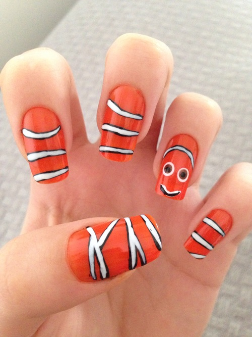 Finding Nemo Nails Pictures, Photos, And Images For