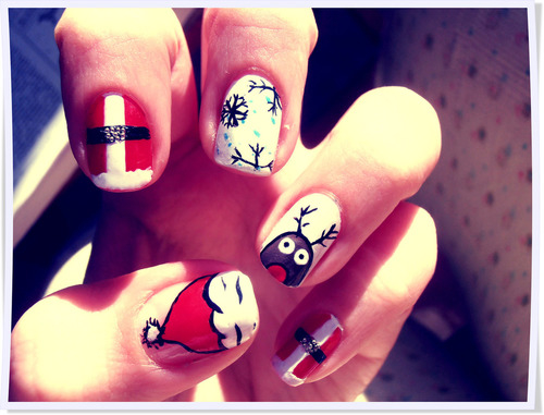 Christmas Nail Designs Pictures Photos And Images For Facebook