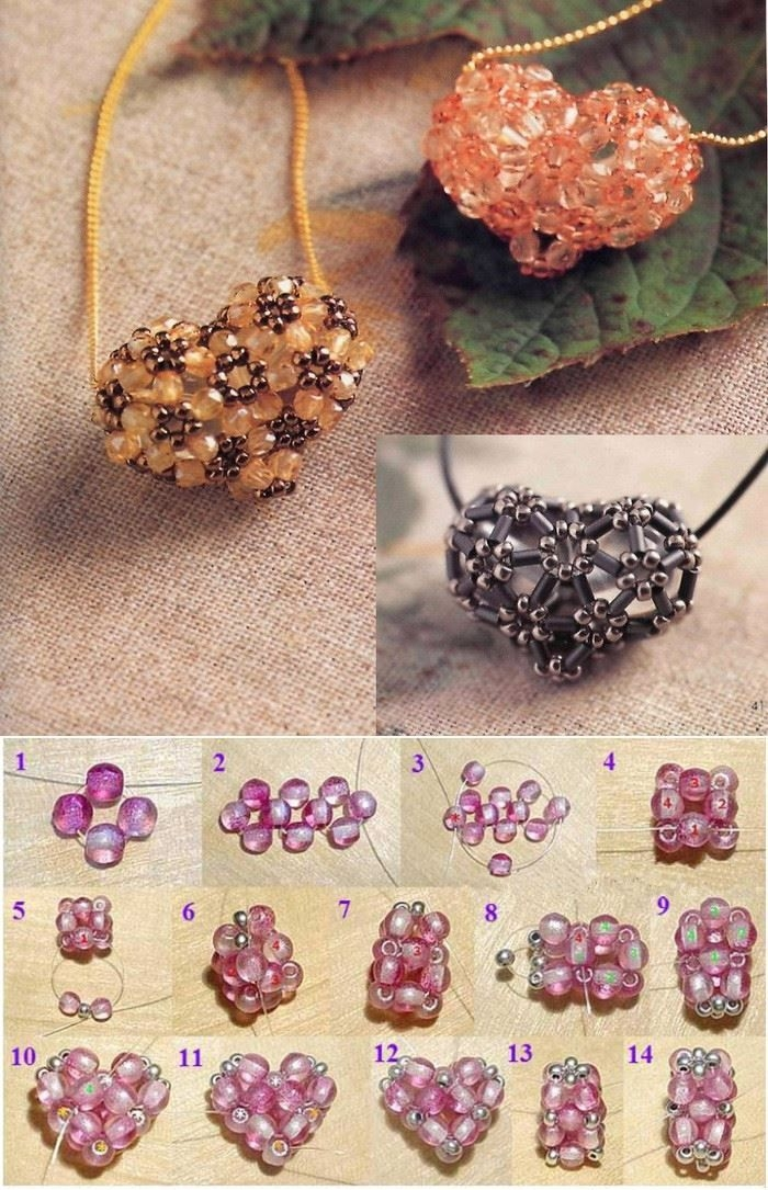DIY Beaded Heart Pictures, Photos, and Images for Facebook ...