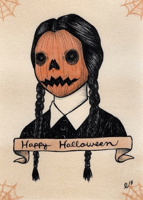 Cute Halloween Drawings Tumblr Happy Drawing Pictures