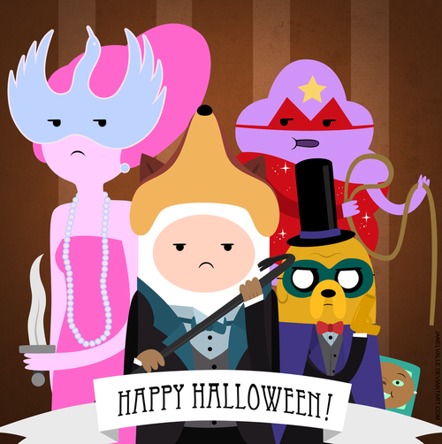 Happy Halloween From Adventure Time Pictures, Photos, and Images ...