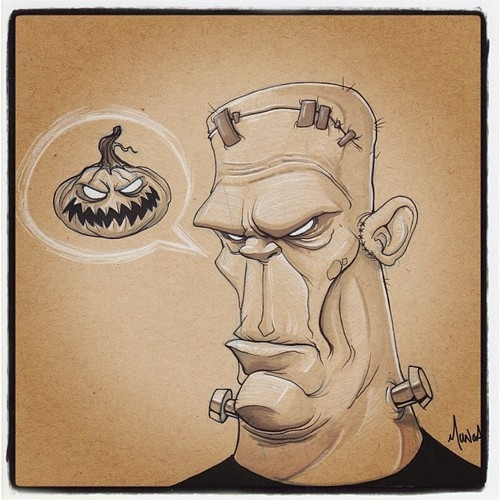 Frankenstein Drawing Pictures Photos and Images for Facebook Tumblr