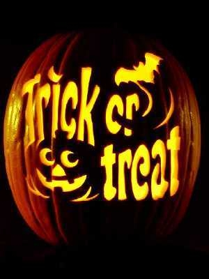 Trick or treat pumpkin pictures photos and images for for Trick or treat pumpkin template