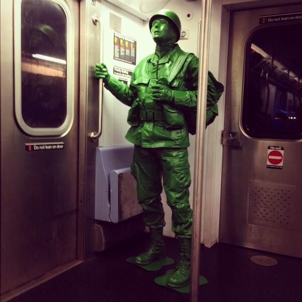 Costume Halloween On Tumblr.Green Army Man Halloween Costume Pictures Photos And Images For Facebook Tumblr Pinterest And Twitter
