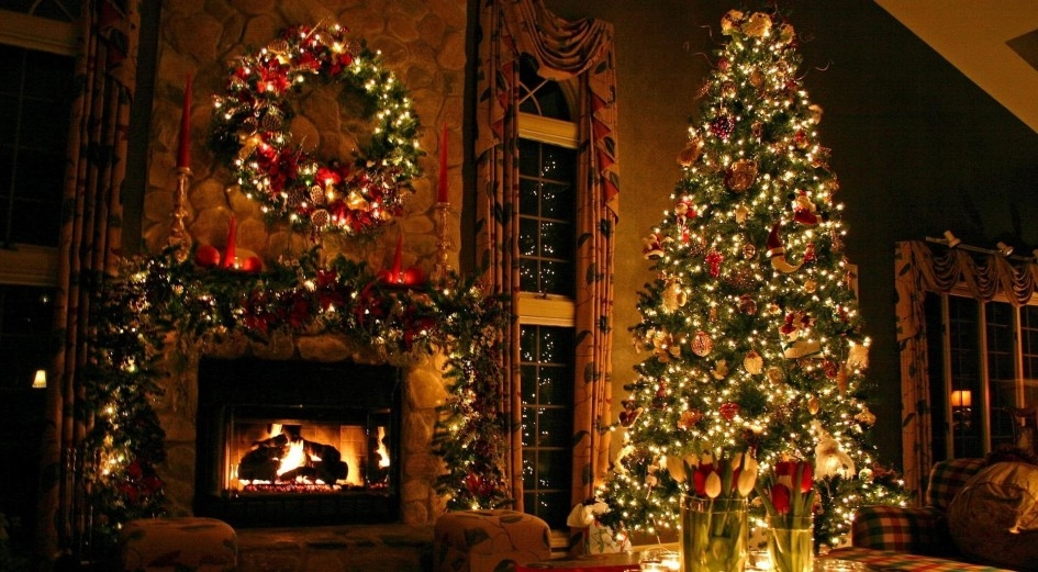 Christmas Living Room Pictures Photos and Images for Facebook