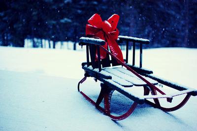 christmas sled - Christmas Sled