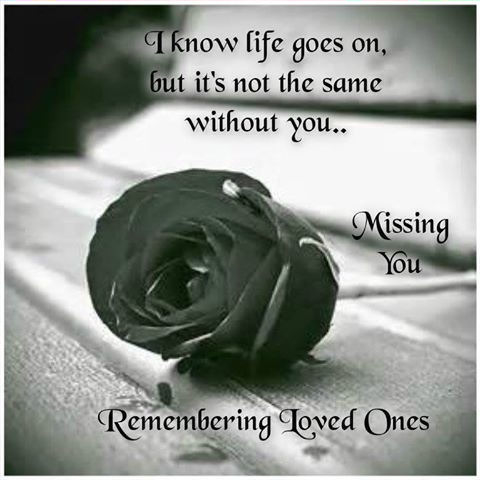 In Memory Of Loved Ones Quotes Custom Remembering Loved One Pictures Photos And Images For Facebook