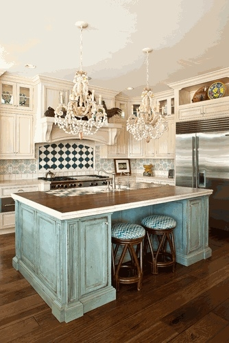 Shabby chic kitchen | 334 x 500 · 108 kB · jpeg